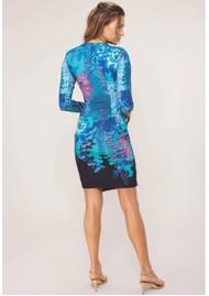 Hale Bob Jimena Jersey Dress - Teal