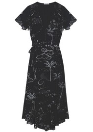 Lily and Lionel Drew Dress - Mystic Palm