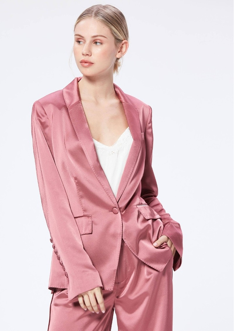 Paige Denim Samille Blazer - Deco Rose main image