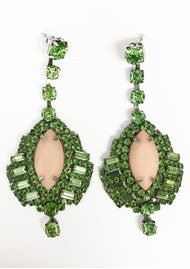 ESSENTIEL ANTWERP Vernandez Drop Earrings - Mentos Mint