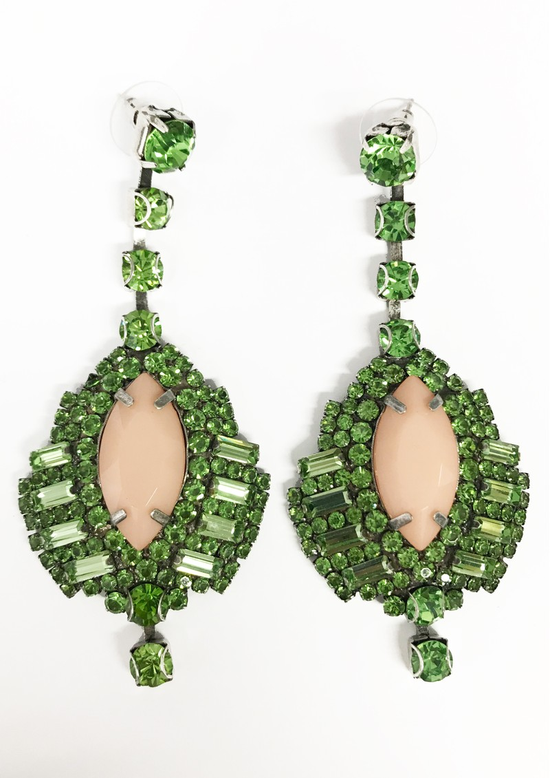 ESSENTIEL ANTWERP Vernandez Drop Earrings - Mentos Mint main image