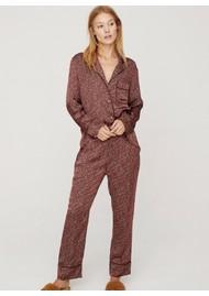 LOVE STORIES Reese Pyjama Pants - Red Earth