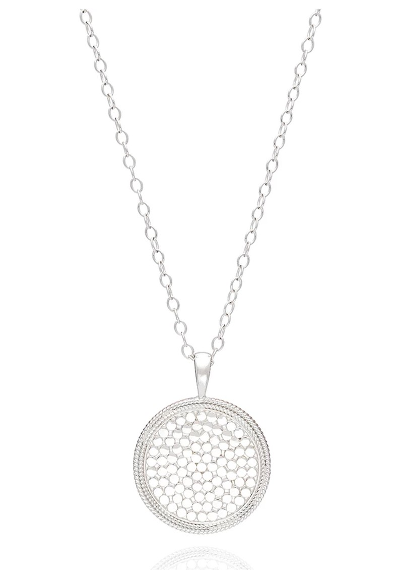 ANNA BECK Medallion Necklace - Rose Gold main image