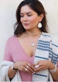 ANNA BECK Medallion Necklace - Rose Gold