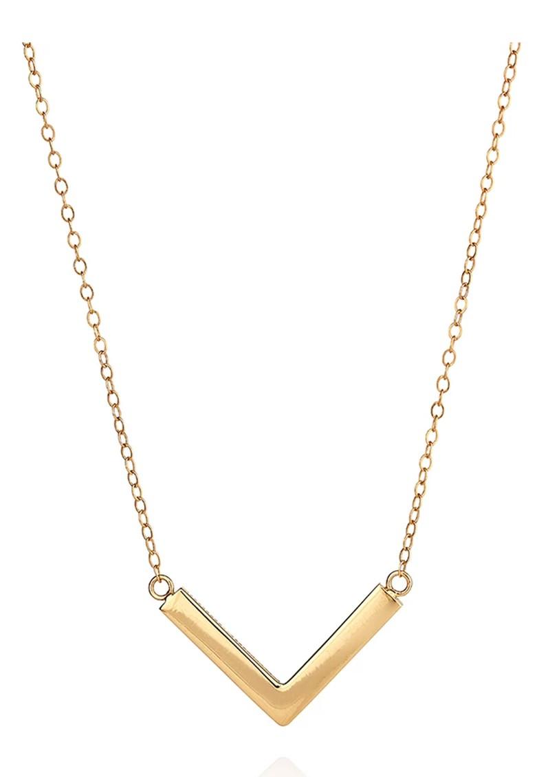 ANNA BECK Medium Arrow Necklace - Gold main image