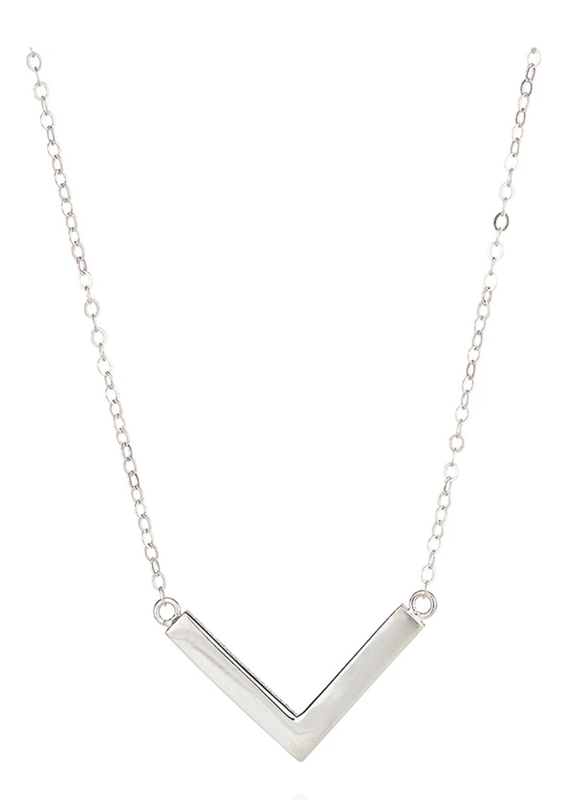 ANNA BECK Medium Arrow Necklace - Silver main image