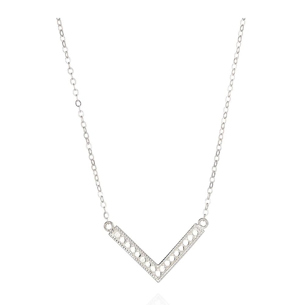Medium Arrow Necklace - Silver