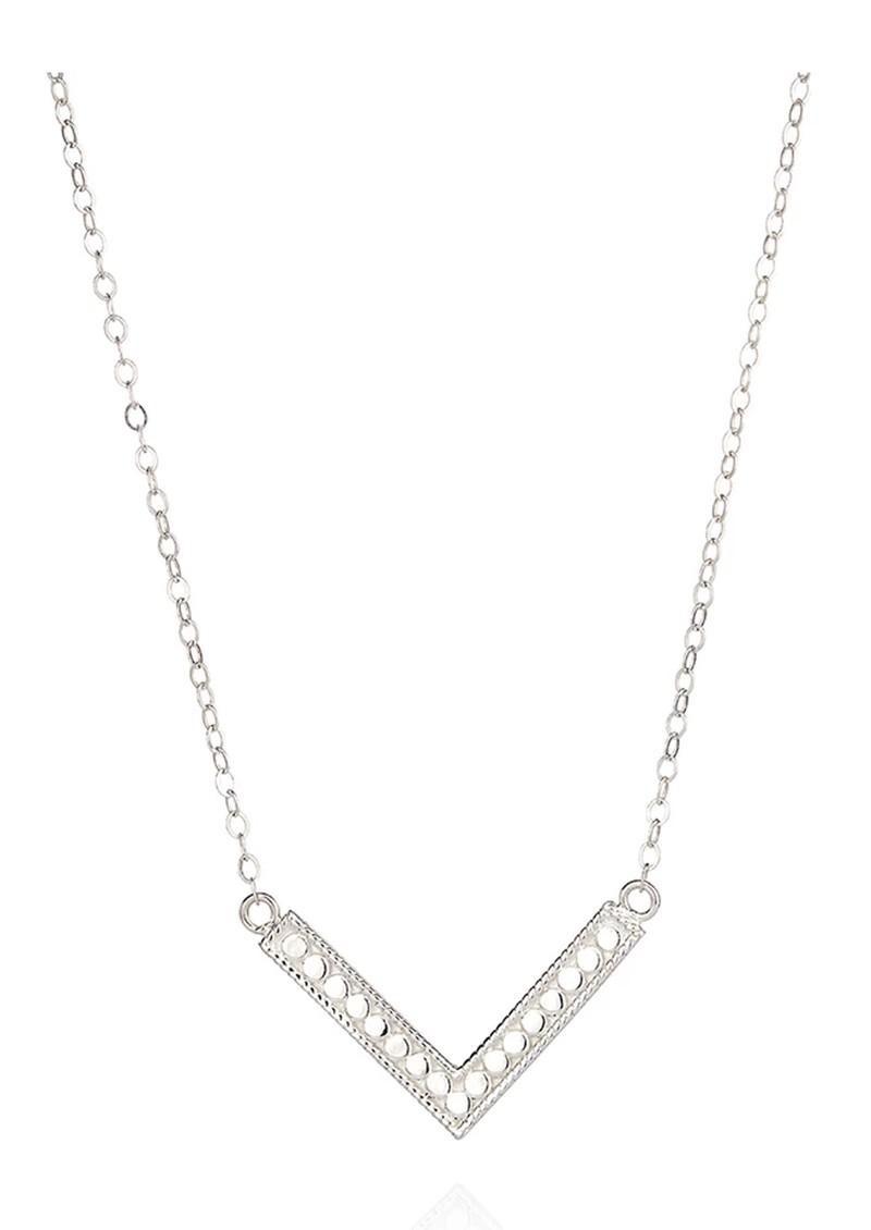 ANNA BECK Medium Arrow Necklace - Silver main image
