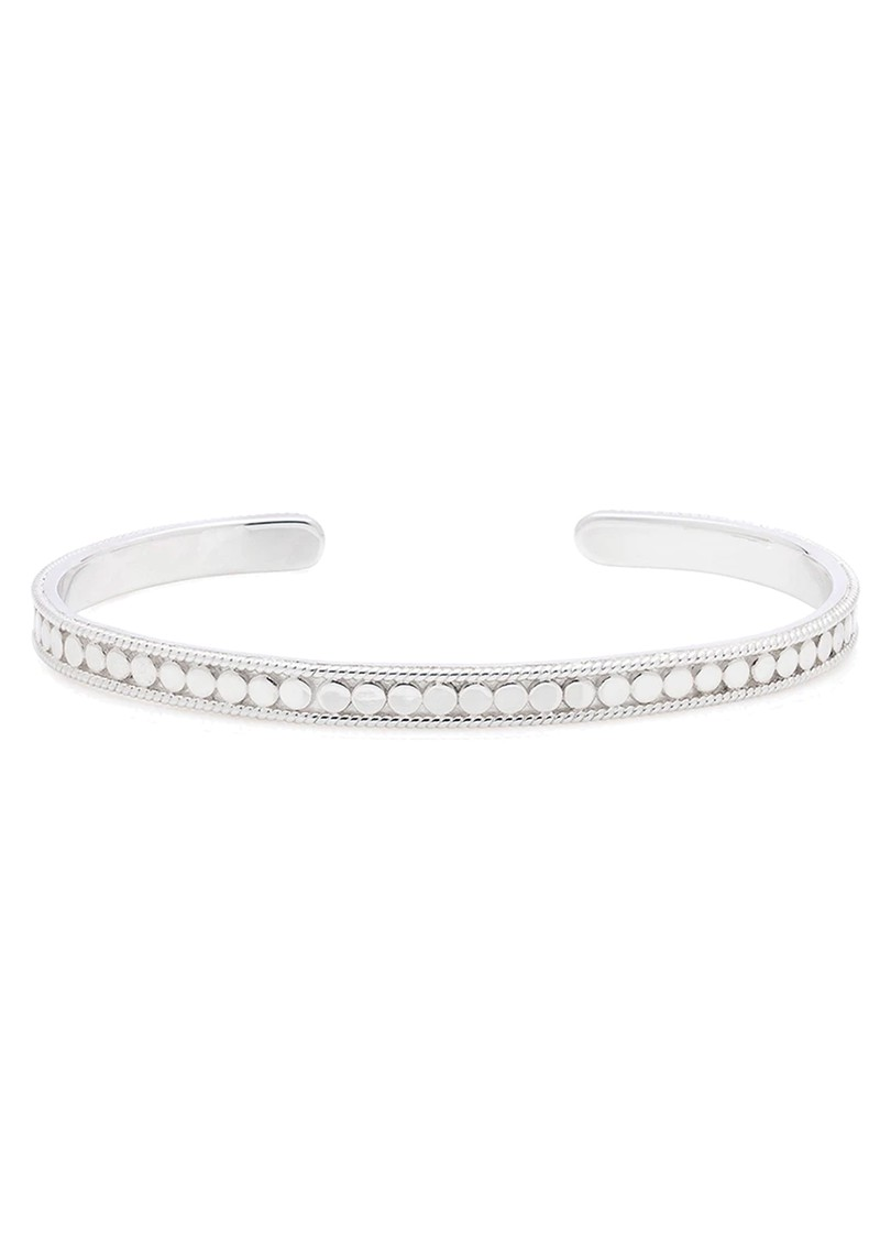 ANNA BECK Dotted Stacking Cuff - Silver main image
