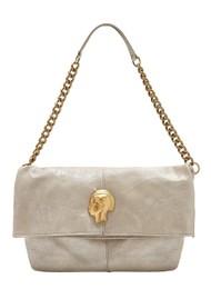 Sous Les Paves Spritz Fold Over Bag - Silver & Gold