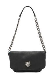 Sous Les Paves Mai Tai Cat Shoulder Bag - Black