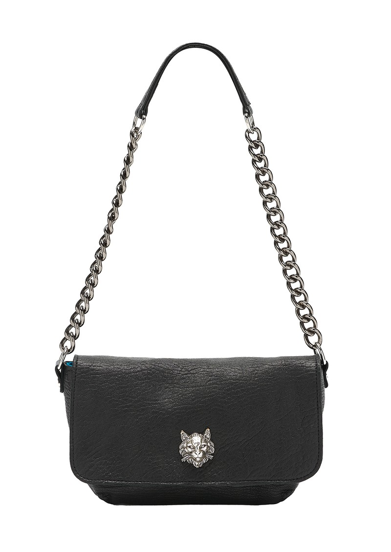 Sous Les Paves Mai Tai Cat Shoulder Bag - Black main image