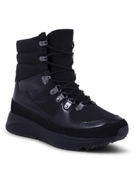 WODEN Emma High Top Waterproof Boot - Black