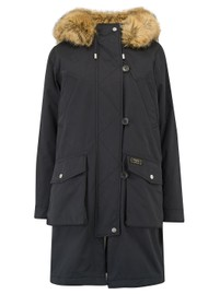 PARKA LONDON Primrose 3 in 1 Parka Coat - Black