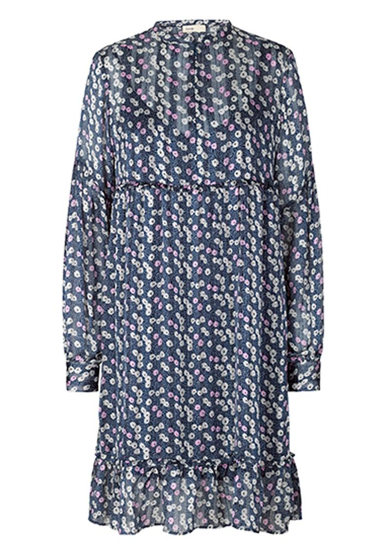 LEVETE ROOM Harvest 3 Dress - Blue Floral main image