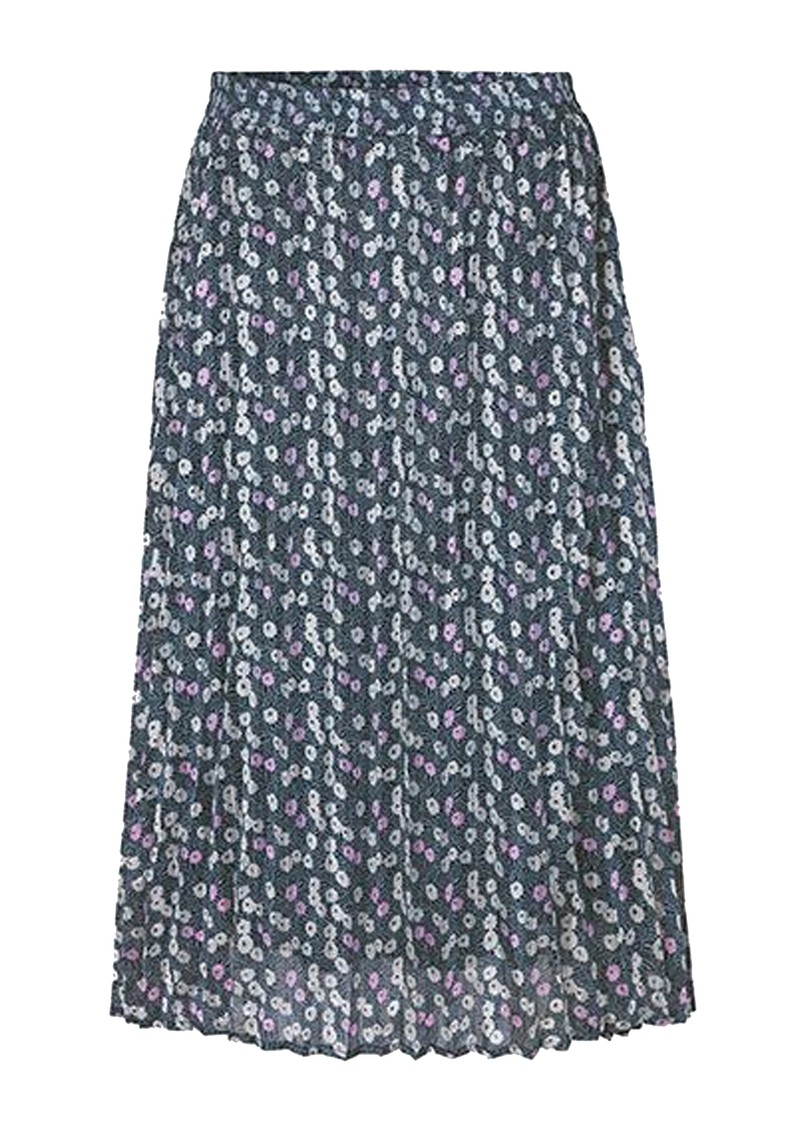 LEVETE ROOM Harvest 4 Skirt - Blue Floral main image