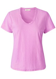 LEVETE ROOM Any Short Sleeve T-Shirt - Pink