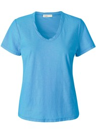 LEVETE ROOM Any Short Sleeve T-Shirt - Blue