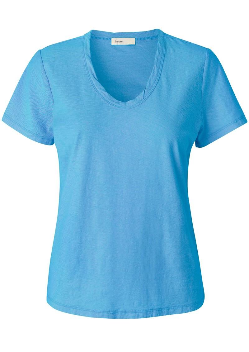 LEVETE ROOM Any Short Sleeve T-Shirt - Blue main image