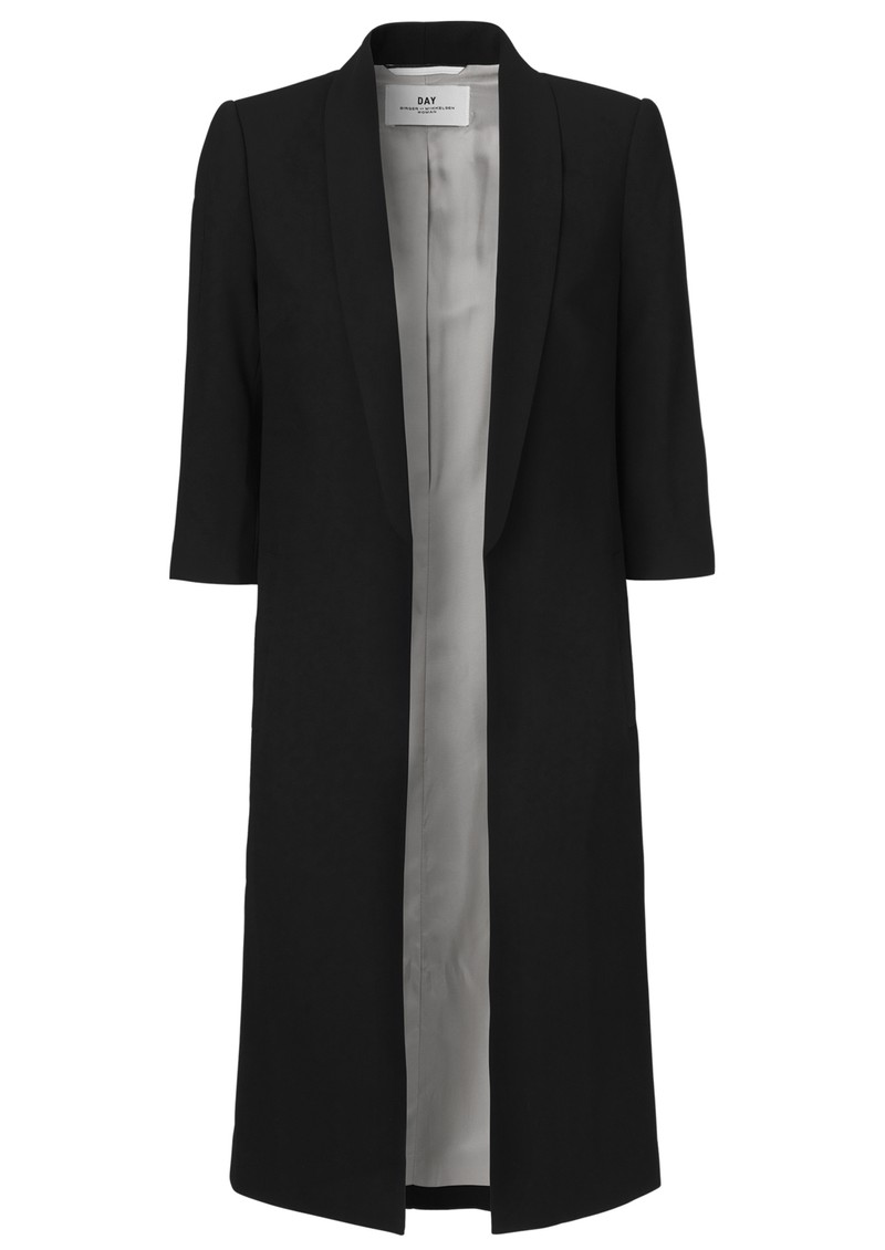 Day Birger et Mikkelsen  Day Classic Gabardine Long Blazer - Black main image