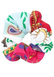 HAYLEY MENZIES Silk Printed Scrunchie - Enchanted Leopard