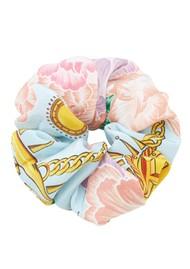 HAYLEY MENZIES Silk Printed Scrunchie - Luna Floral