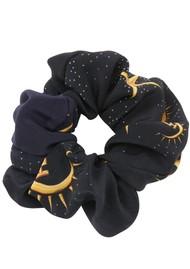 HAYLEY MENZIES Silk Printed Scrunchie - Super Star Struck