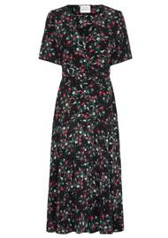 HAYLEY MENZIES Midi Belted Silk Dress - Eve