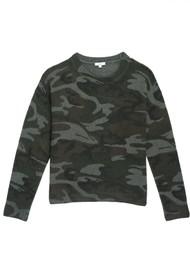 Rails Perci Knitted Sweater - Jungle Camo