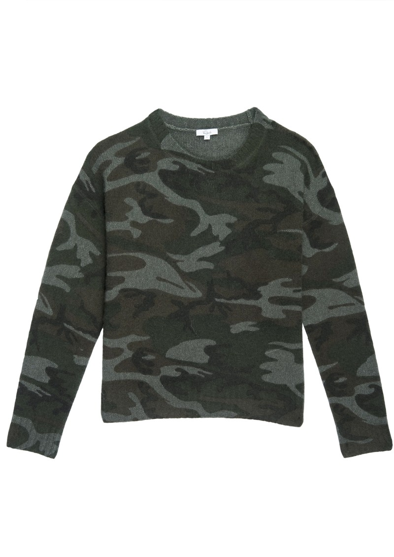 Rails Perci Knitted Sweater - Jungle Camo main image