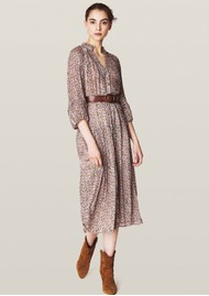 Ba&sh Dean Midi Dress - Ecru