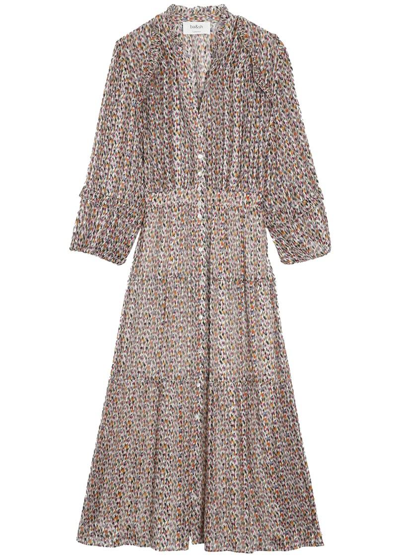 Ba&sh Dean Midi Dress - Ecru main image