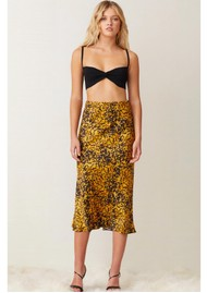 BEC & BRIDGE Turtle Rock Midi Skirt - Tortoise