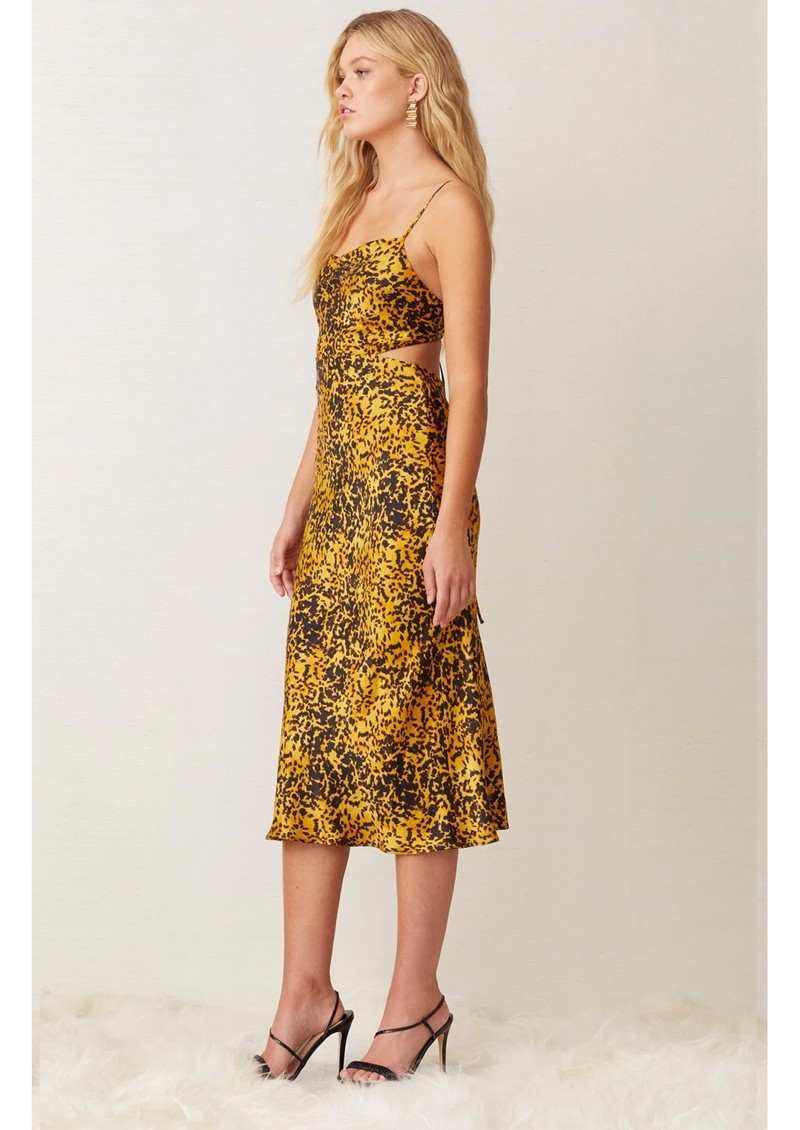 BEC & BRIDGE Turtle Rock Midi Dress - Tortoise main image