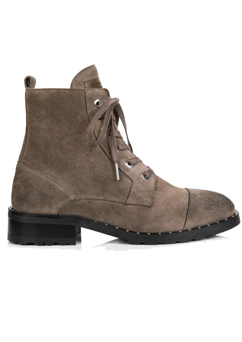 AIR & GRACE Jessa Lace Up Suede Boot - Grey main image