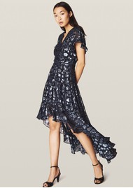 Ba&sh Grace Dress - Dark Blue