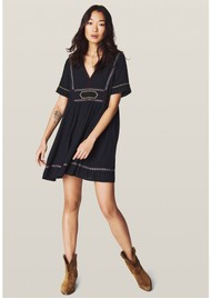 Ba&sh Talia Dress - Carbon