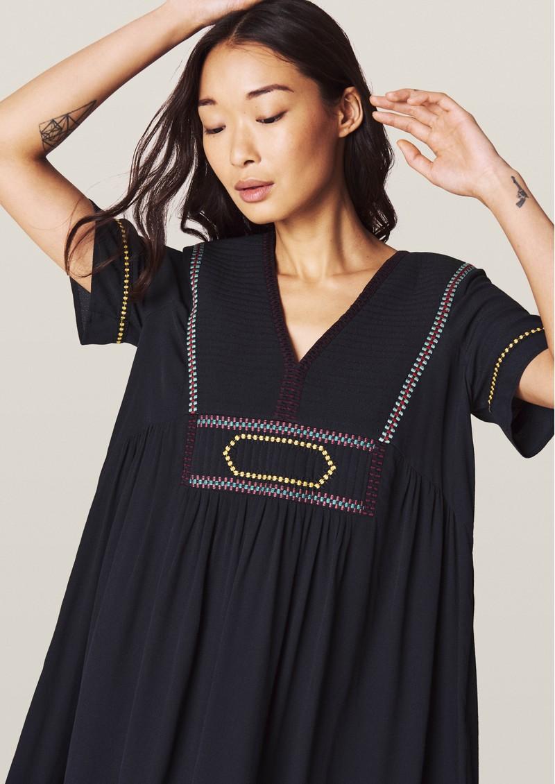 Ba&sh Talia Dress - Carbon main image