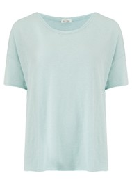 American Vintage Sonoma Short Sleeve Top - Baby Blue