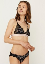 Love Lace Bralette - Batic Flower