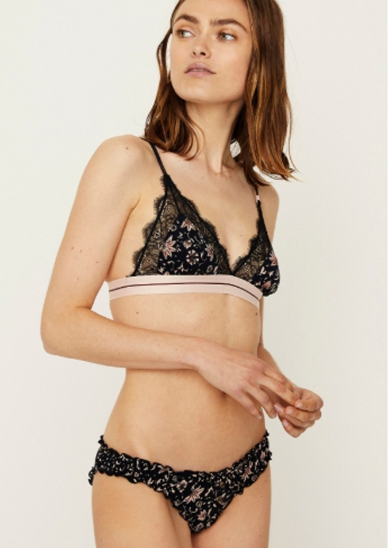 LOVE STORIES Lolita Lace Brief - Batik Floral main image