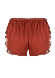 LOVE STORIES Mae PJ Shorts - Chocolate