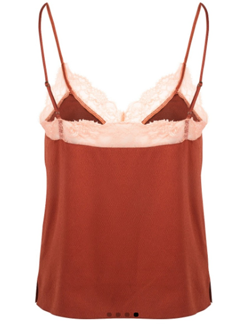LOVE STORIES Lynn Camisole - Chocolate main image