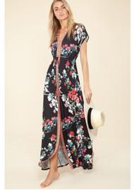 Hale Bob Misha Jersey Maxi Dress - Black