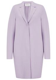 HARRIS WHARF Cocoon Coat - Lavender