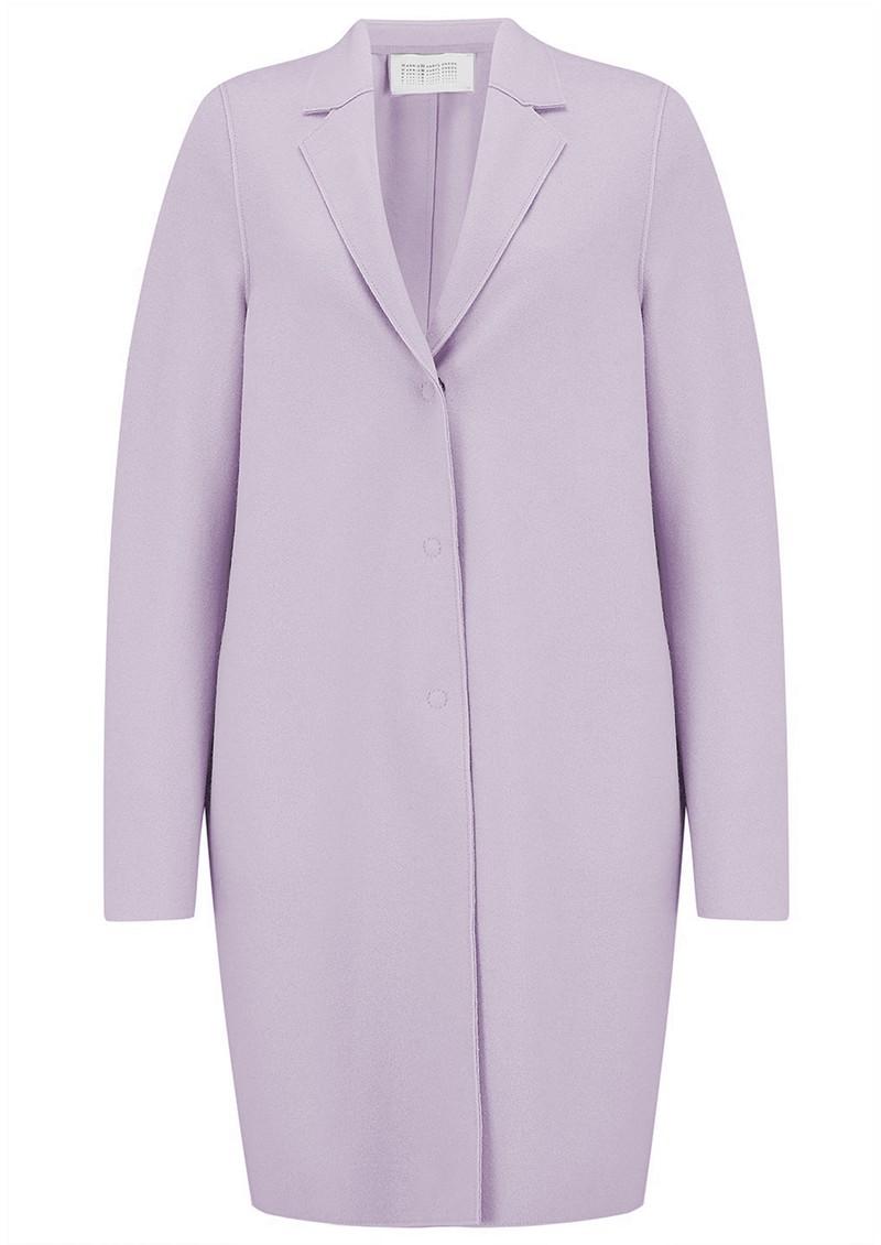 HARRIS WHARF Cocoon Coat - Lavender main image