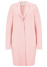HARRIS WHARF Cocoon Coat - Pastel Pink