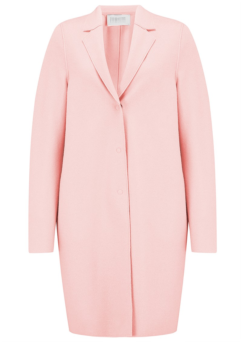 HARRIS WHARF Cocoon Coat - Pastel Pink main image