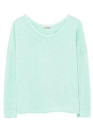 American Vintage Sonoma Long Sleeve T-Shirt - Baby Blue