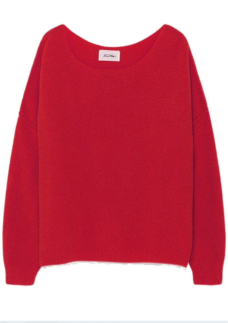 American Vintage Damsville Jumper - Redcurrant main image